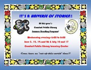 "Summer Reading Program--""Universe of Stories"""