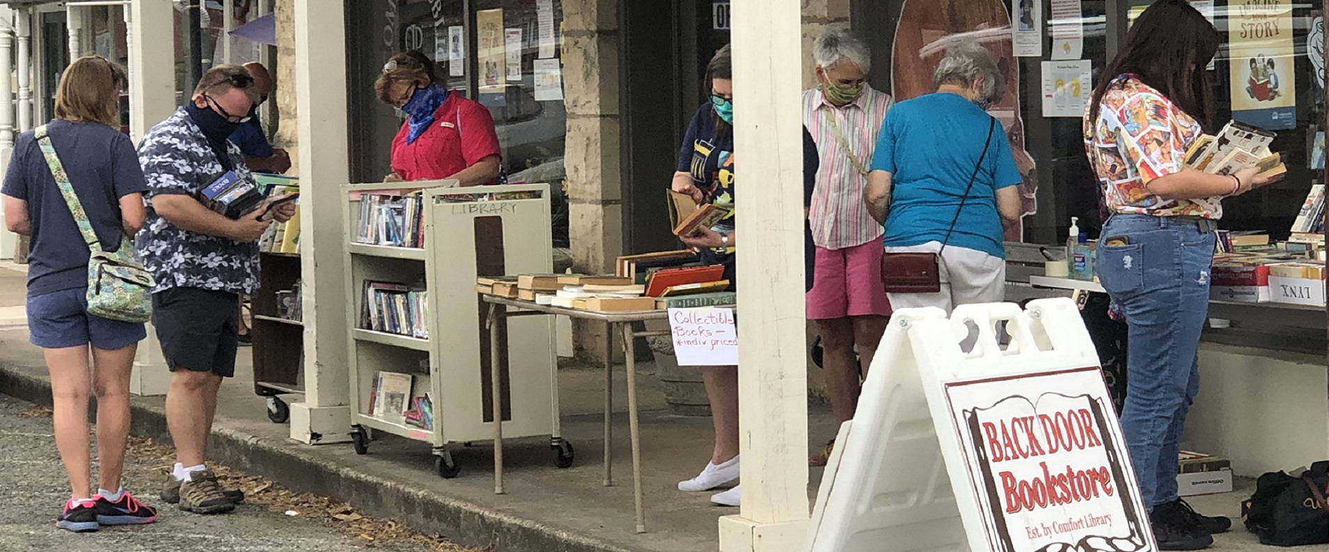 BackDoor Book Store