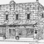 Drawing of Library