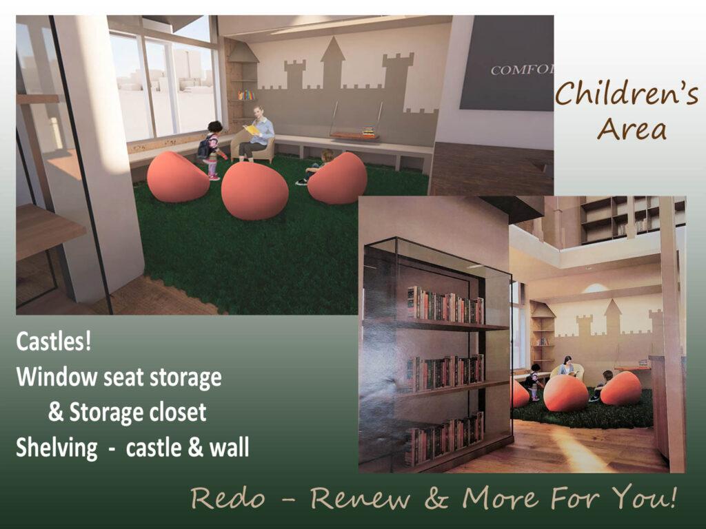 New children's area